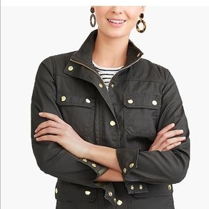 J Crew Fall Jacket, olive green